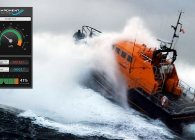 RNLI Renewables Project – Live Data Screens to Showcase Performance