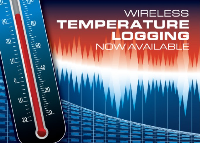 Wireless Temperature Logging Added to our packages